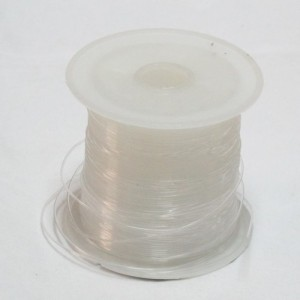 Hilo Nylon 0,6mm. Transparente. Rollo 30mts.