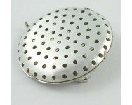 Base para Broche 36mm. Plata
